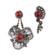 ZAHRA LARGE & DAHLIA STUD EARRING COMBINATION