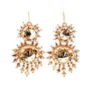 ZOE DOUBLE DROP EARRINGS
