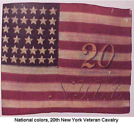 National Colors,20th New York Veteran Cavalry - CavHooah.com