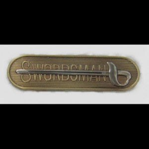 CavHooah Swordsman Badge