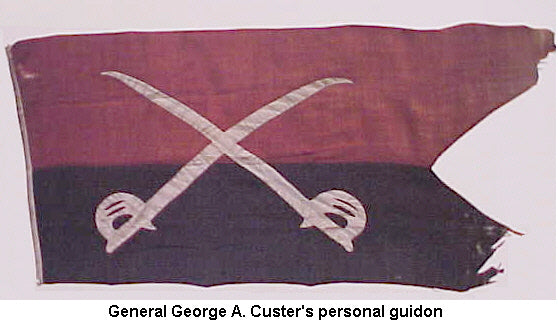 7th Cavalry General Custer's personal flag - CavHooah.com