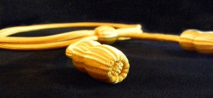yellow cavalry hat cord