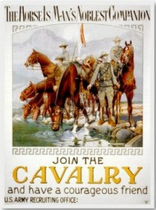 Join the Cavalry poster - CavHooah.com