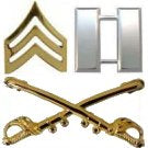 CAVALRY AND MILITARY RANK AND BRANCH INSIGNIA - CAVHOOAH.COM