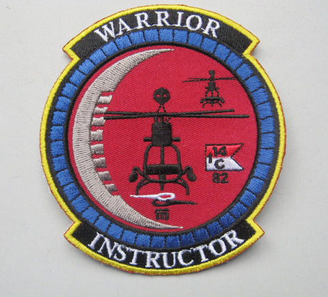 Warrior Instructor Patch