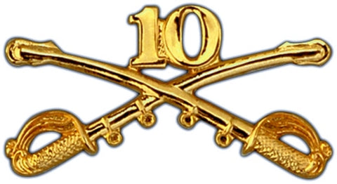 10th Cavalry Regimental Crossed Sabers