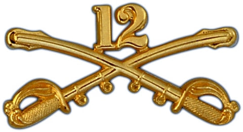 12th Cavalry Regimental Crossed Sabers