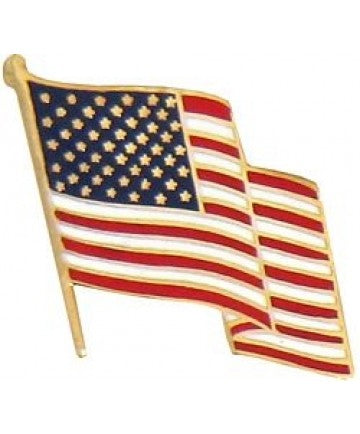 US Flag Pin 5/8""