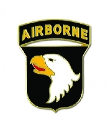 101st Airborne Division Pin 1 Inch