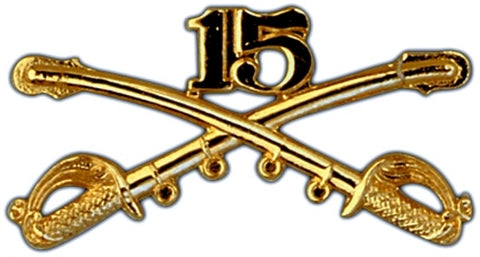15th Cavalry Regimental Crossed Sabers