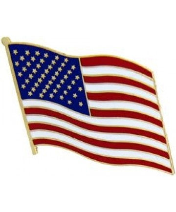 US Flag Pin 1 1/2""