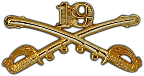 19th Cavalry Regimental Crossed Sabers