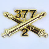 2-377 Crossed Cannons