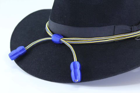 CavHooah Hat Cord Blue/Yellow - Chemical