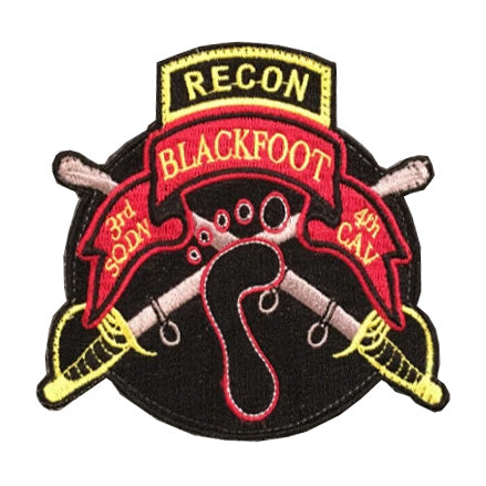 3-4 Cav Blackfoot Recon Patch (Color)