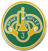 3rd Cavalry Regiment Combat Service Identification Badge