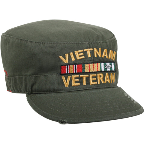 Vintage Vietnam Veteran Fatigue Cap