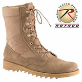 G.I. Type Ripple Sole Desert Tan Jungle Boots