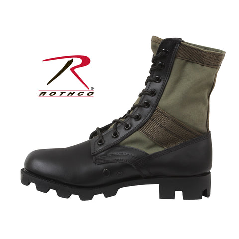 Military Jungle Boots - Olive Drab