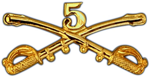 5th Cavalry Regimental Crossed Sabers