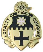5th Cavalry regiment DUI Unit Crest