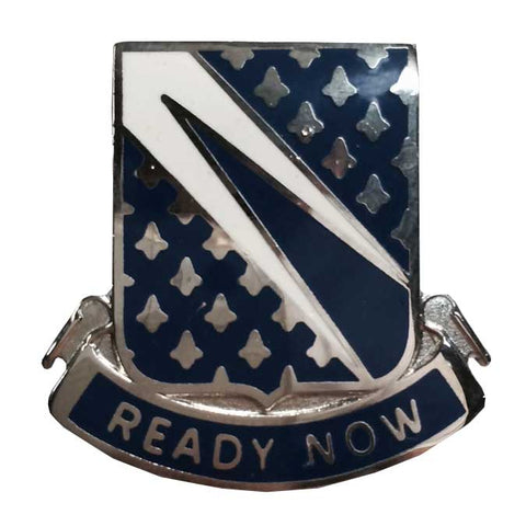 "89th Cavalry Regiment Distinctive Unit Insignia DUI ""Ready Now"""