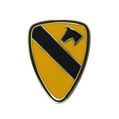 1st Cavalry Division 1-inch Pin