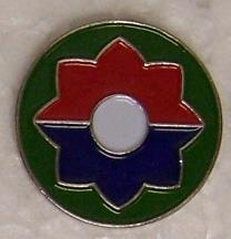 9th Infantry Division Lapel Pin - CavHooah.com
