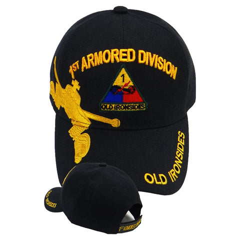 1st Armored Division Military Cap - Old Ironsides