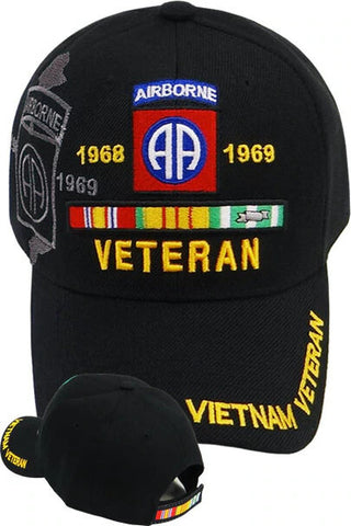 82nd Airborne Vietnam Veteran Military Cap