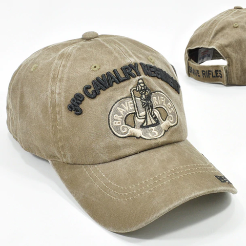 3rd Cavalry Regiment Military Cap - Khaki