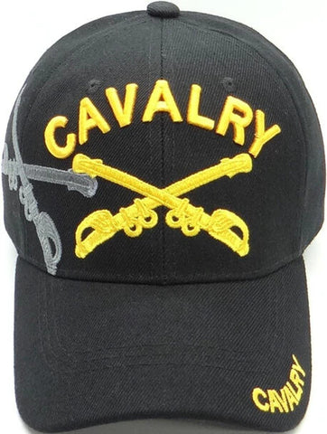 Cavalry Crossed Sabers Ball Cap
