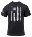 Distressed Flag Athletic T-Shirt