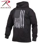 Distressed US Flag Hoodie