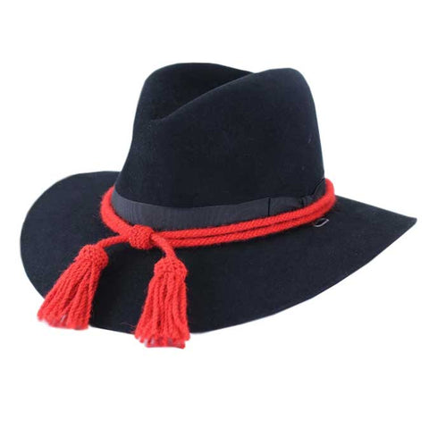 Civil War Style Hat Cord - Scarlet Red Artillery