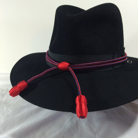 Hat Cord Red / Blue Adjutant General