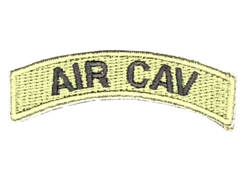 Air Cav Tab Patch Green