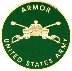 U.S. Army Armor Branch Pin - Armored Cavalry