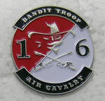 Bandit Troop 1 6 Cavalry Pins