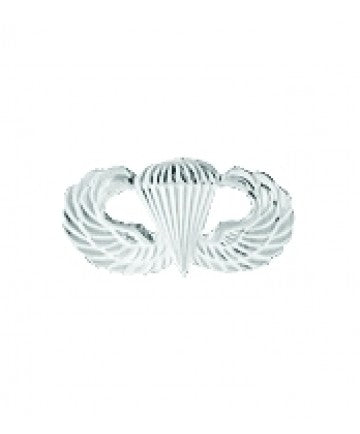 Basic Airborne Jump Wings MINI Bright Finish 1/2""