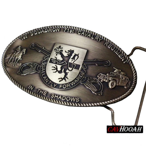 Custom 1-71 Cav Belt Buckle