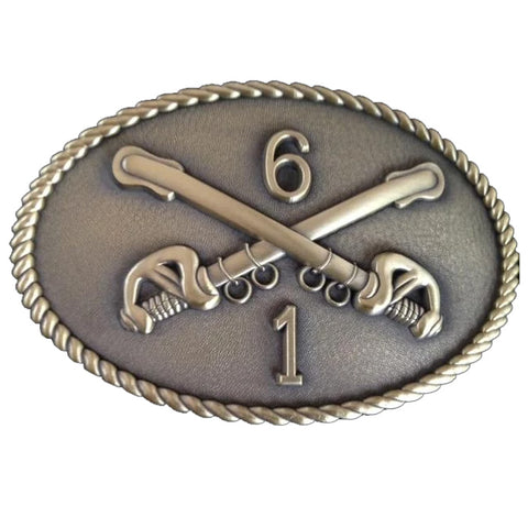 Custom 1-6 Cavalry Belt Buckle