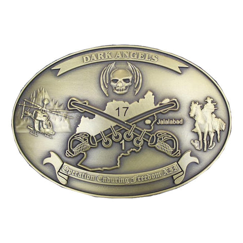 Custom 1-17 Cav Belt Buckle