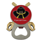 If you aint Cav - Crossed Saber Bottle Opener