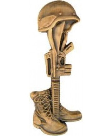 Bronze Soldier Memorial Pin