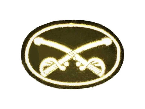 Cavalry Crossed Sabers Patch