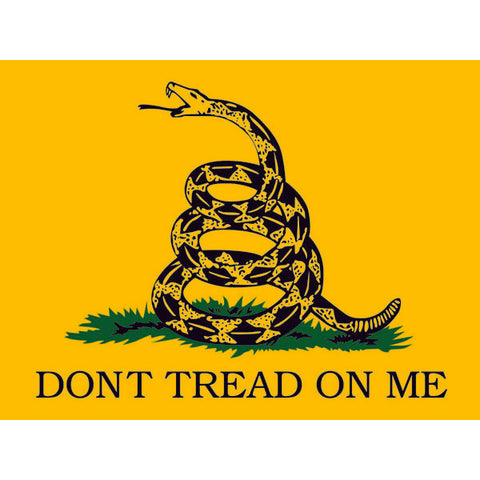Dont Tread on Me Gadsden Rattlesnake Flag