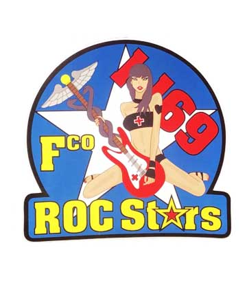 FCO ROC Stars Vinyl Sticker