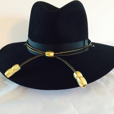 Hat Cord Gold Black Commissioned Officer