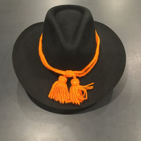 Civil War Style Hat Cord - Orange Signal